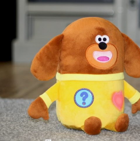 Ex-JLS Member Aston Merrygold Caught Dancing With Interactive Smart Duggee by his little one