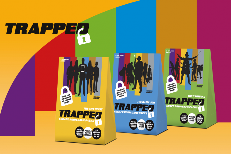 Trapped Escape Room Game Packs