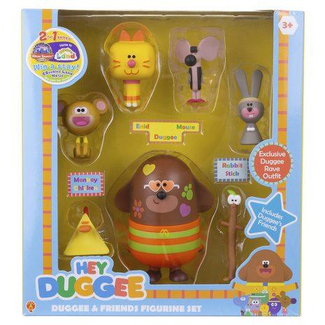 Duggee and Friends Figurine Set