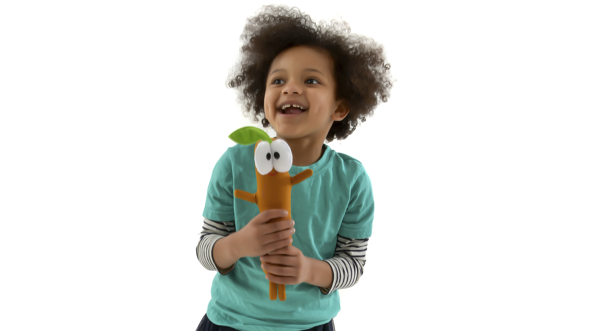 Singing Sticky Stick Soft Toy