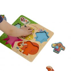 Bing and Friends wooden puzzle