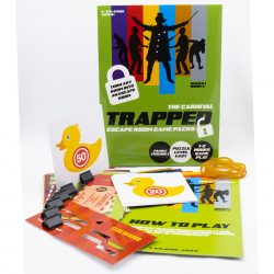 Trapped Escape Room Game Packs The Carnival