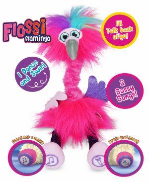 Sassimals Ali Alpaca Flossi Flamingo