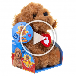Waffle the Wonder Dog Soft Toy With Sounds