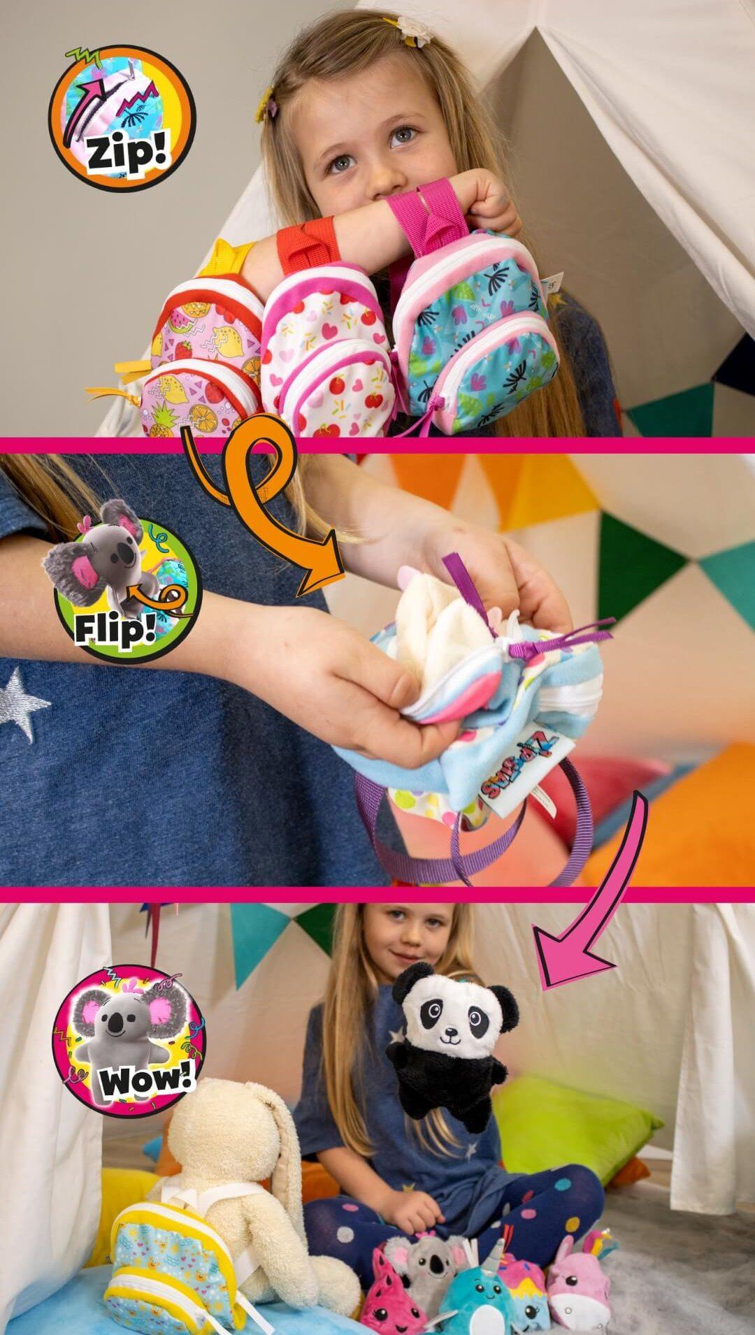 Zipstas toys banner mobile zip flip wow