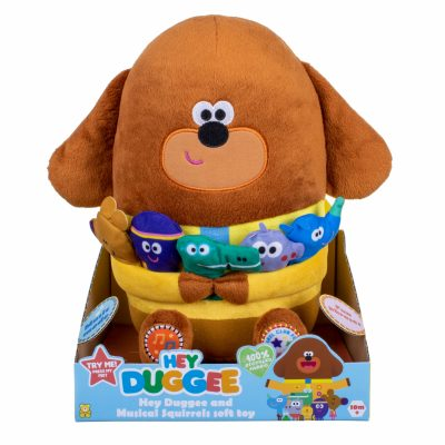 Hey Duggee and Musical Squirrels Soft Toy