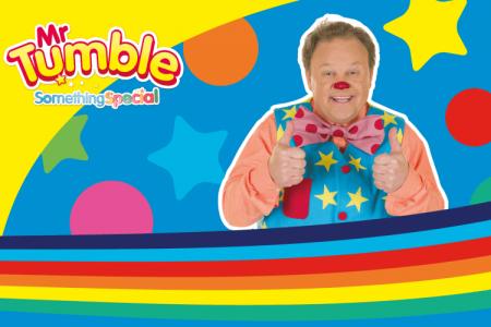 Mr Tumble Toys Golden Bear