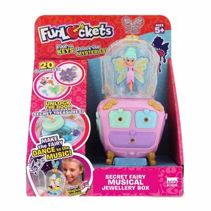 Secret Fairy Musical Jewellery Box