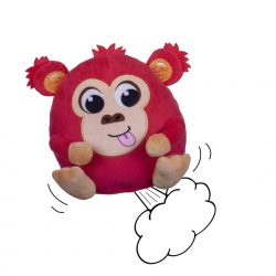 Windy Bums Cheeky Farting Monkey Soft Toy