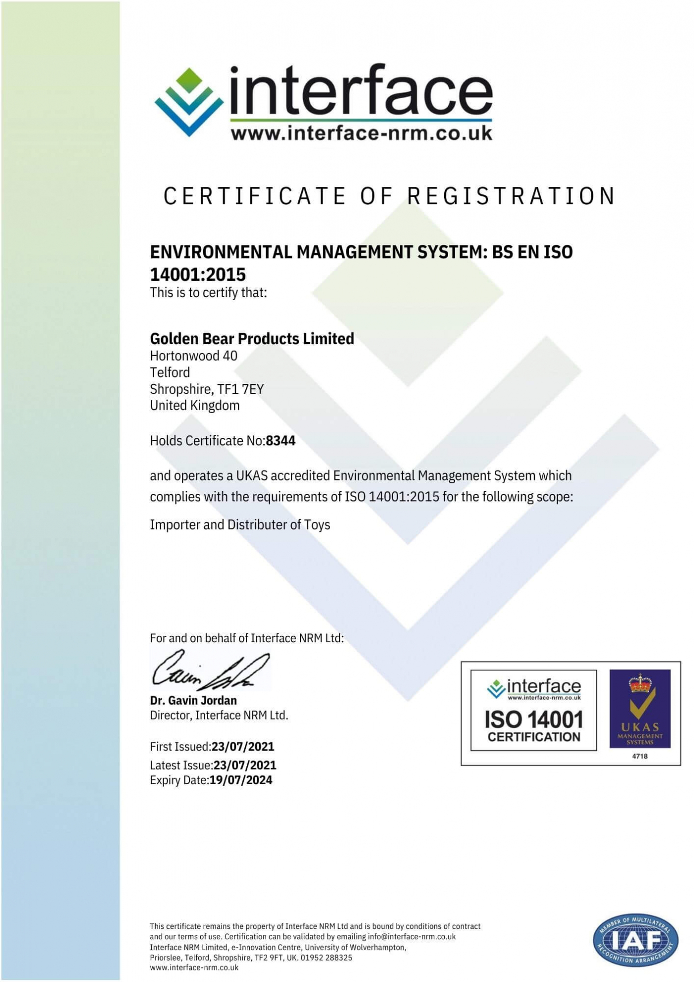 Golden Bear Products Limited UKAS ISO 14001 Certificate - 8344 (ID 7662).pdf (1)